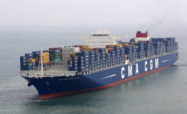 Les bateaux conteneurs - Le plus gros porte conteneur ...